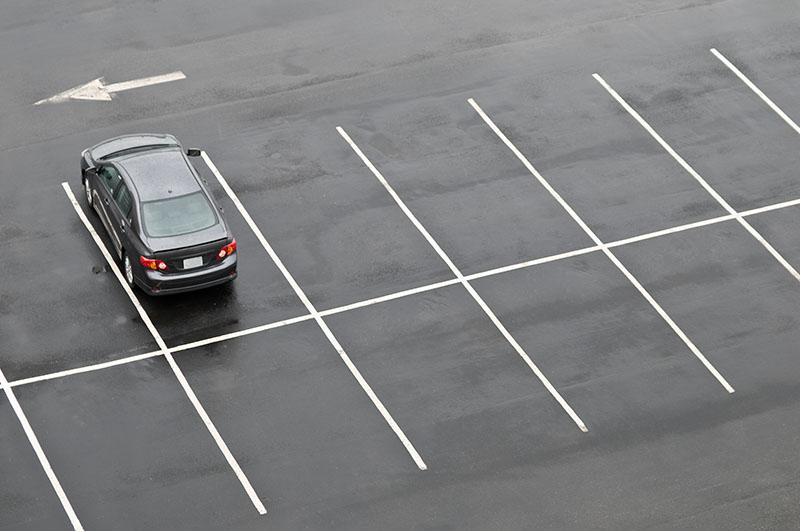 atlanta parking lot striping